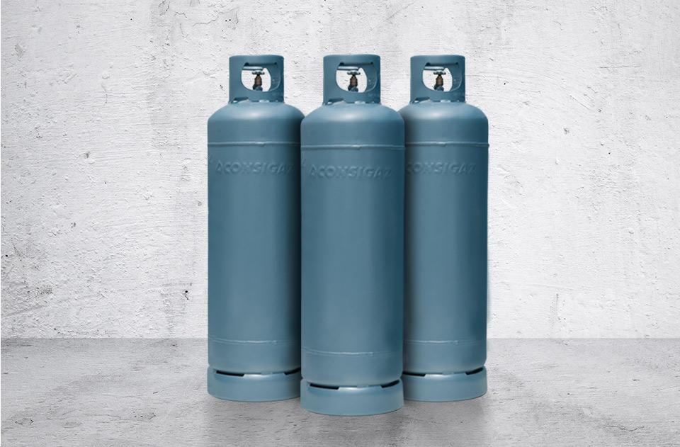 cilindro de gás p45 consigaz