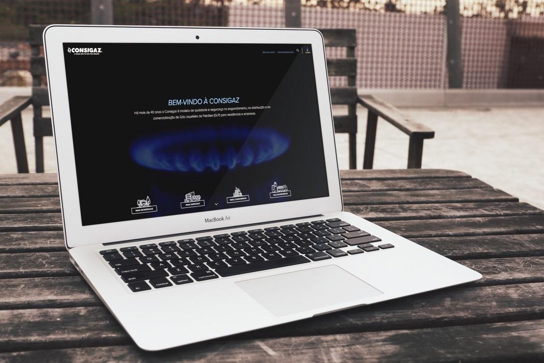 Novo site Consigaz
